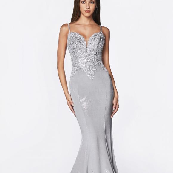Cinderella Dresses & Skirts - Strapless Glitter Ballgown Long Dress CD9175